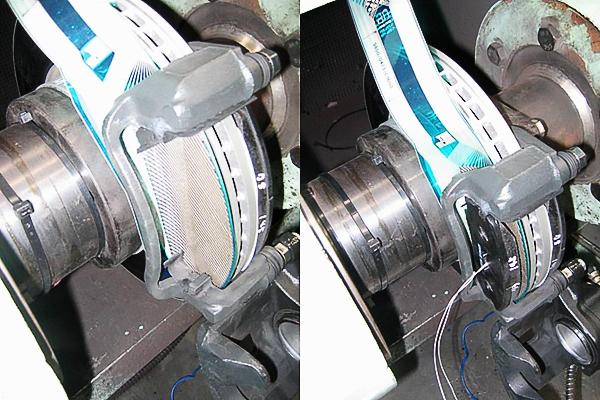 마찰재 면압 측정 시스템 이미지