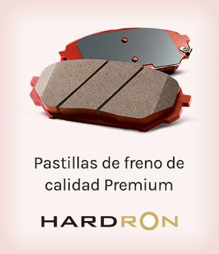 HARDRON, Pastillas de freno de calidad Premium