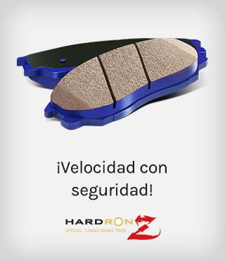 HARDRON Z, ¡Velocidad con seguridad!