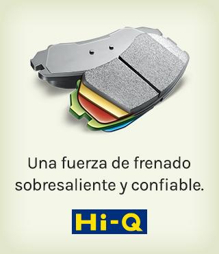 Hi-Q, Una fuerza de frenado sobresaliente y confiable.